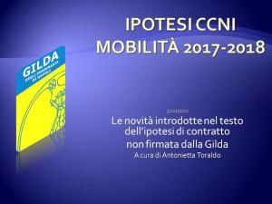 Ipotesi CCNI mobilità