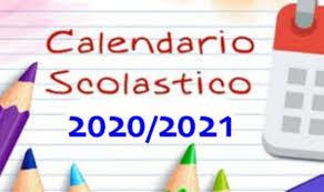 16/07/2020 Approvato il calendario scolastico 2020 21, in classe a